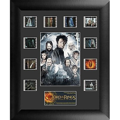 """""Film Cells Lord of the Rings: Return of the King S1 Mini Montage, 13""""""""H x 11""""""""W, Framed (FLMC802)"""""" 1877996"
