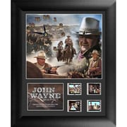 "Film Cells John Wayne FilmCell Clock, S1, 13""L x 11""W (FLMC615)"