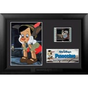 "Film Cells Pinocchio, S4, Minicell, 7""W x 5""H, Black MDF Frame (FLMC715)"