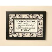 """P. Graham Dunn """"Good Morning"""" Glass Frame (PGHD1280)"""