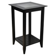 Convenience Concepts Carmel End Table, Black (CCL317)