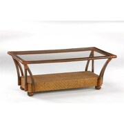 Night and Day Furniture Tulip Coffee Table, Honey Glaze (NADFO471)