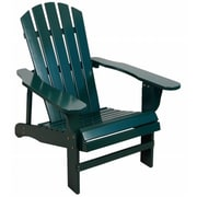 United General Supply Co Inc 27.8in x 35.8in x 34.4in Adirondack Chair, Hunter Green (JNSN75194)