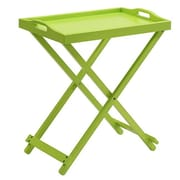 Convenience Concepts Folding Tray Table, Green Finish (RTL52406)