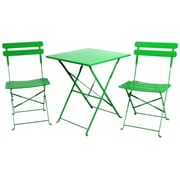 Sinochem Ningbo Ltd Steel Sets Table, Green, Each (JNSN75438)