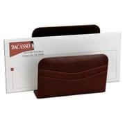 Dacasso Leather Letter Holder, Mocha (DCSS241)