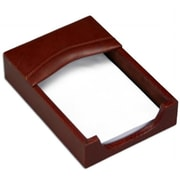 "Dacasso Memo Holder, Mocha, Top Grain Leather, 4"" x 6"" (DCSS018)"