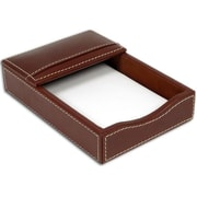 Dacasso A3209 Rustic Leather 4x6 Memo Holder by