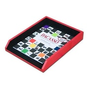 Dacasso A7401 Letter Tray Genuine Top, Grain Red Leather/Black Felt Bottom (DCSS270)