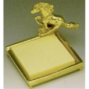 Mayer Mill Brass Horse Post-it Note Holder (MYRMB279)