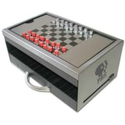 Ruda Overseas Chess Checkers with Index Card Holder (RDOV153)