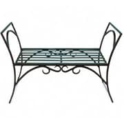 Achla AR-01 Arbor Garden Bench, Black Powdercoat, ACHL2504