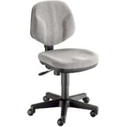 Alvin Classic Fabric Computer and Desk Office Chair, Armless, Medium Gray (ALV6352)