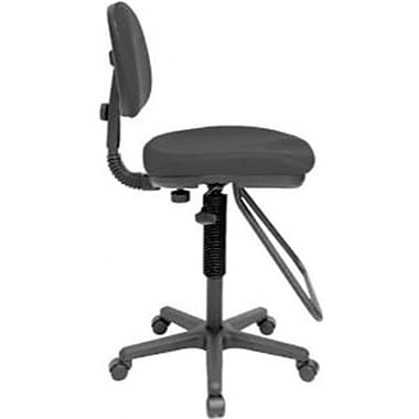 Alvin ALV6343 Studio Drafting Chair Black Staples
