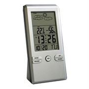 MicroGear 209075 Digital Alarm Clock with Weather Station ,EC 18276