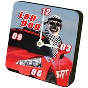 Lexington Studios Lap Dog Tiny Times Clock (LXNGS323)
