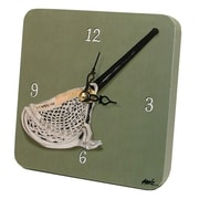 "Lexington Studios Tiny Times 5"" x 5"" Lacrosse Clock (LXNGS361)"