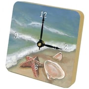 Lexington Studios 23096TT Ocean Shells Tiny Times Clock