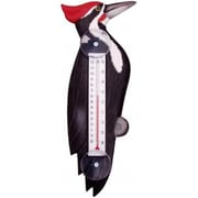 Songbird Essentials Woodpecker Small Window Thermometer