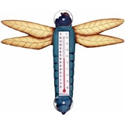 Songbird Essentials Blue Dragonfly Large Window Thermometer