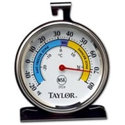Taylor Precision Products Refrigerator Freezer Thermometer (ORGL20997)