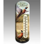 American Expedition Back Porch Thermometer, Pheasant (IDMN621)
