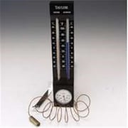 Taylor Precision Products 5329 Woodcrest Indoor/Outdoor Thermometer (ORGL19557) by