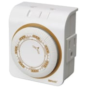 Coleman Cable 50002 Indoor Heavy Duty Mechanical Timer