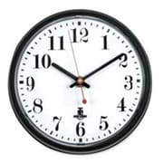 Chicago Lighthouse 7.5in Gray with White Dial Wall Clock with Cubicle Mounting Tape (SPRCH17203)