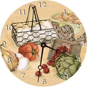 Lexington Studios Recipes Round Clock (LXNGS161)