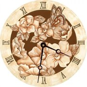 Lexington Studios 23057R Magnolias Round Clock (LXNGS163)