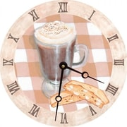 Lexington Studios 23062R Cappuccino Round Clock