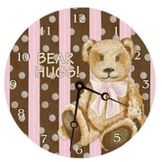 Lexington Studios Cocoa Cabana Pink 18in Round Clock (LXNGS220)