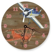 Lexington Studios 18in Airplanes Round Clock (LXNGS248)