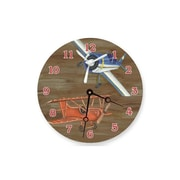 "Lexington Studios Airplanes 10"" Round Clock (LXNGS249)"