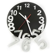 World Friendly World Black Solid Wood Gravity Clock (WRFW015)