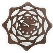 World Friendly World 122042 Esp Webb Solid Wood Clock with Jewel Rhinestones (WRFW024)