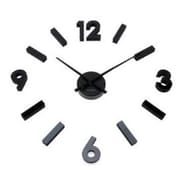 World Friendly World DIY Design It Your Way Black Hash Mark Acrylic Hand-Cut Clock (WRFW065)