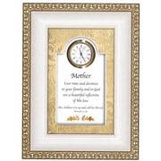 "Heartfelt Mother With Proverbs 31:28 6"" x 8"" Clock (ANCRD47290)"