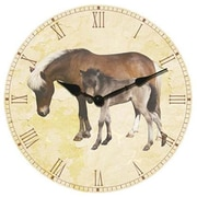Ruda Overseas 199 14 Inch Big Wooden Wall Clock