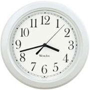 "Westclox 8.5"" White Round Wall Clock (ORGL17256)"