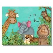 Lexington Studios Zoo Animals Large Clock (LXNGS154)