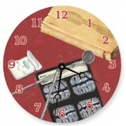 Lexington Studios Dental Details Round Clock (LXNGS243)