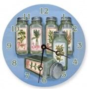 Lexington Studios 23101R Herbs Round Clock