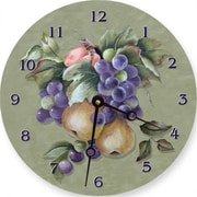 "Lexington Studios Fruit 18"" Round Clock (LXNGS184)"