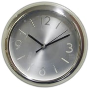 "Ruda Overseas 9"" Stainless Steel Wall Clock (RDOV159)"