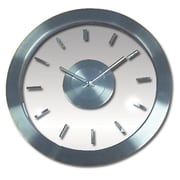 Ruda Overseas Stainless-Steel 12in Transparent Dial Wall Clock (RDOV291)