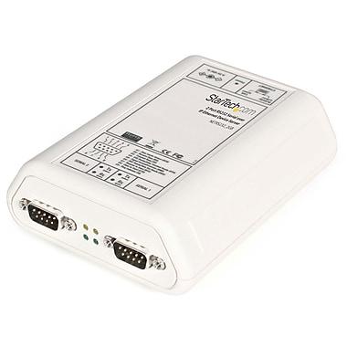 StarTech.com – Serveur de périphériques série RS232 par Ethernet IP à 2 ports