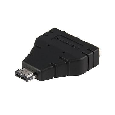 Startech.Com Power Esata to Esata And USB Adapter, M/F