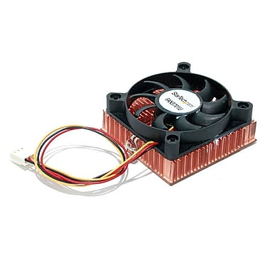 Startech.Com 1U 60X10Mm Socket 7/370 Cpu Cooler Fan with Copper Heatsink & Tx3